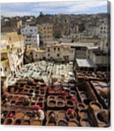 Fez Morocco Canvas Print