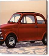 Fiat 500 1957 Painting Canvas Print