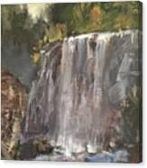 Fictitious Falls Canvas Print
