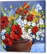 Field Bouquet Canvas Print