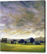 Field Of Green  18x24   Canvas Print