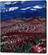 Field Of Hell Canvas Print