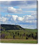 Field To Forest To Hill To Sky Canvas Print