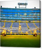 Field View Of Lambeau Canvas Print