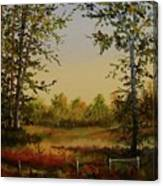 Fields And Trees Canvas Print