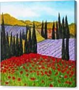 Fields Of Memories Canvas Print