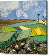 Fields To Gogh Canvas Print