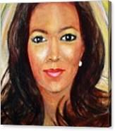 Fiercewomen Portrait Of Adrienne Canvas Print