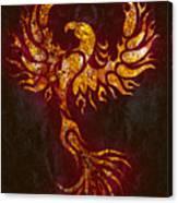 Fiery Phoenix Canvas Print