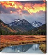 Fiery Uinta Sunset Canvas Print