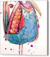Fiesta Bird Canvas Print