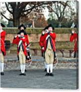 Fifes And Drums Canvas Print