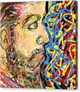 Fifteen Minute Beard Canvas Print