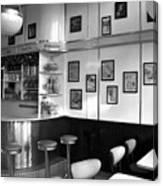 Fifties Diner Canvas Print
