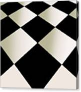 Fifties Kitchen Checkerboard Floor Canvas Print