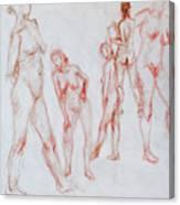 Figure Five Canvas Print