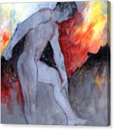 Figure Study 029 Canvas Print