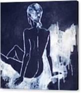 Figure Study 045 Canvas Print
