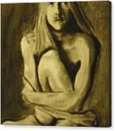 Figure Study Canvas Print
