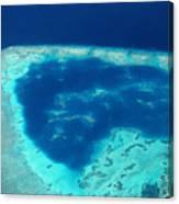 Fiji Aerial Canvas Print