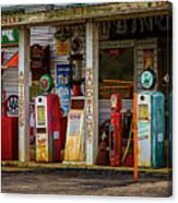Filling Station Canvas Print