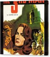 Film Noir Poster  The Third Man Canvas Print