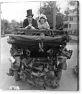 Film Still Wedding Canvas Print