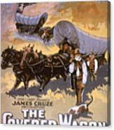 Film: The Covered Wagon Canvas Print