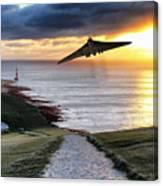 Final Beachy Head Pass Canvas Print