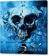 Final Destination-an American Horror Franchise  Canvas Print