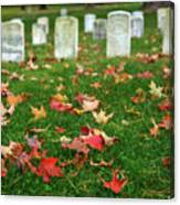 Final Resting Place Canvas Print