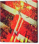 Financial Meltdown Coming Soon Canvas Print