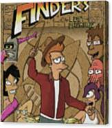 Finders Of The Lost Package Canvas Print