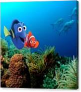 Finding Nemo Canvas Print