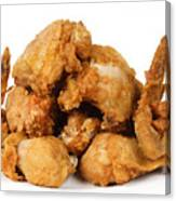 Fine Art Fried Chicken Food Photography Canvas Print