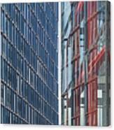 Fine Line Between Buildings Canvas Print
