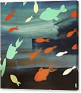 Finestra Di Pesci Canvas Print