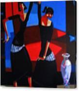 Finger Dance Canvas Print