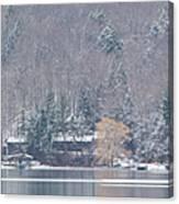 Finger Lakes Winter Panorama Canvas Print
