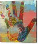 Finger Paint Canvas Print