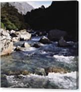 Fiordlands National Park Canvas Print