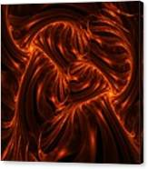 Fire Abstraction Canvas Print