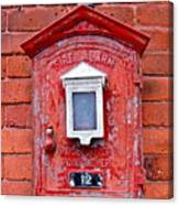 Fire Alarm Box No. 12 Canvas Print