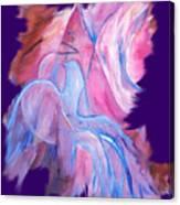 Fire Bird Digital Canvas Print