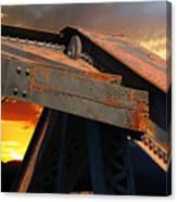 Fire Bridge Canvas Print