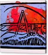 Fire Cricket Canvas Print