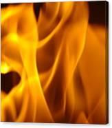 Fire Desires Art Fiery Hot New York Autumn Warmth Baslee Troutman Canvas Print