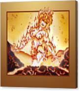 Fire Elemental Canvas Print