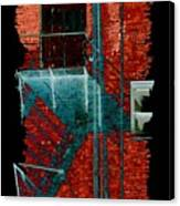 Fire Escape 7 Canvas Print