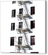 Fire Escape II Canvas Print